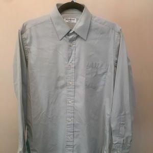 YSL Men's Light Blue Dress Shirt (M)